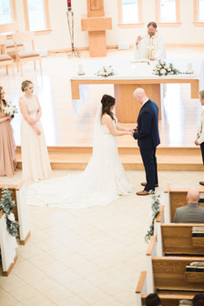 ceremony- bride and groom