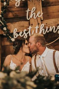 Reception Bride and Groom
