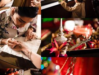 The Mehndi ( Henna) wedding event