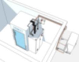 Venta de saunas criogénicas de funcionamiento 100% eléctrico. Permiten tener la cabeza dentro de la cabina durante el tratamiento, potenciando así los efectos terapéuticos.