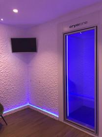 Instalación de cabina para crioterapia