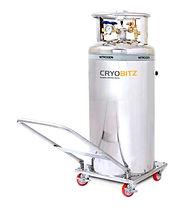 Tanque de nitrogeno Dewar capacidad 100-250 litros