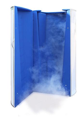 Venta sauna criogenica - fría para tratamientos de crioterapia. Ventas en Argentina, México, Chile, Uruguay, Panamá, Perú, Colombia, Ecuador.