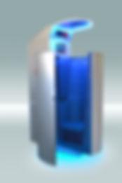 Venta internacional de criosaunas con funcionamiento a base de nitrógeno líquido. Servicio técnico propio, marketing e imagenes corporativas.