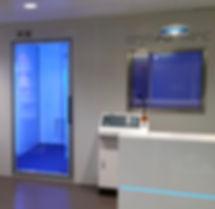 Venta saunas criogénicas eléctricas sin necesidad de consumo de nitrógeno para funcionar. Mecotec es líder mundial en equipos criogénicos eléctricos