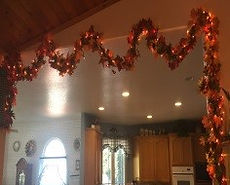 Kelli's Party Rental flower garlands for rent on a budget, low price
