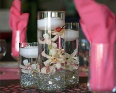 Kelli's Party Rental vases for rent on a budget, low price