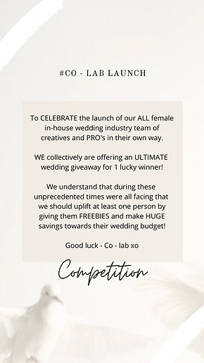 Copy of CO - LAB Competition Insta story