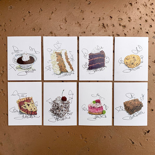 DeLeCtAbLe DeSSertS CarDs