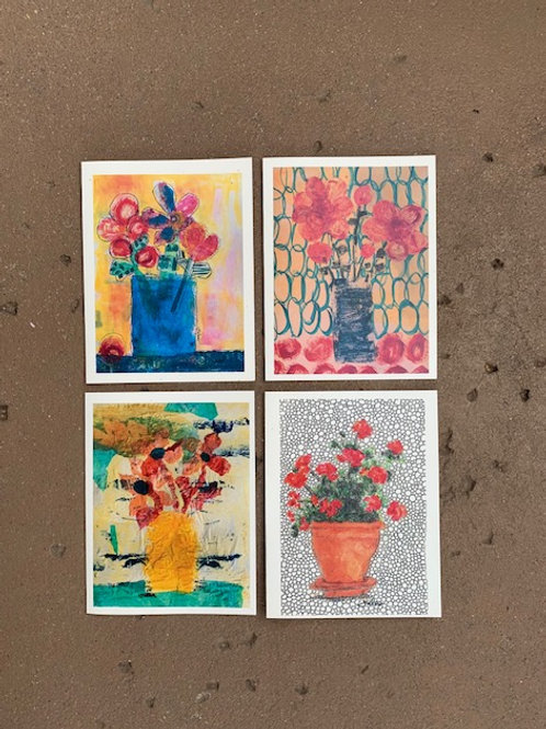 PoTTeD FloWeR CaRds