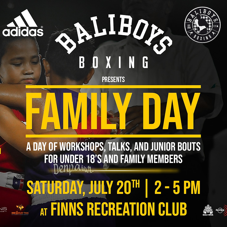 Bali Boys Boxing Family Day