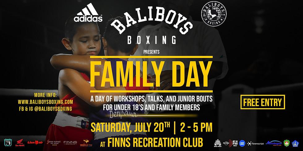 Bali Boys Boxing Family Day
