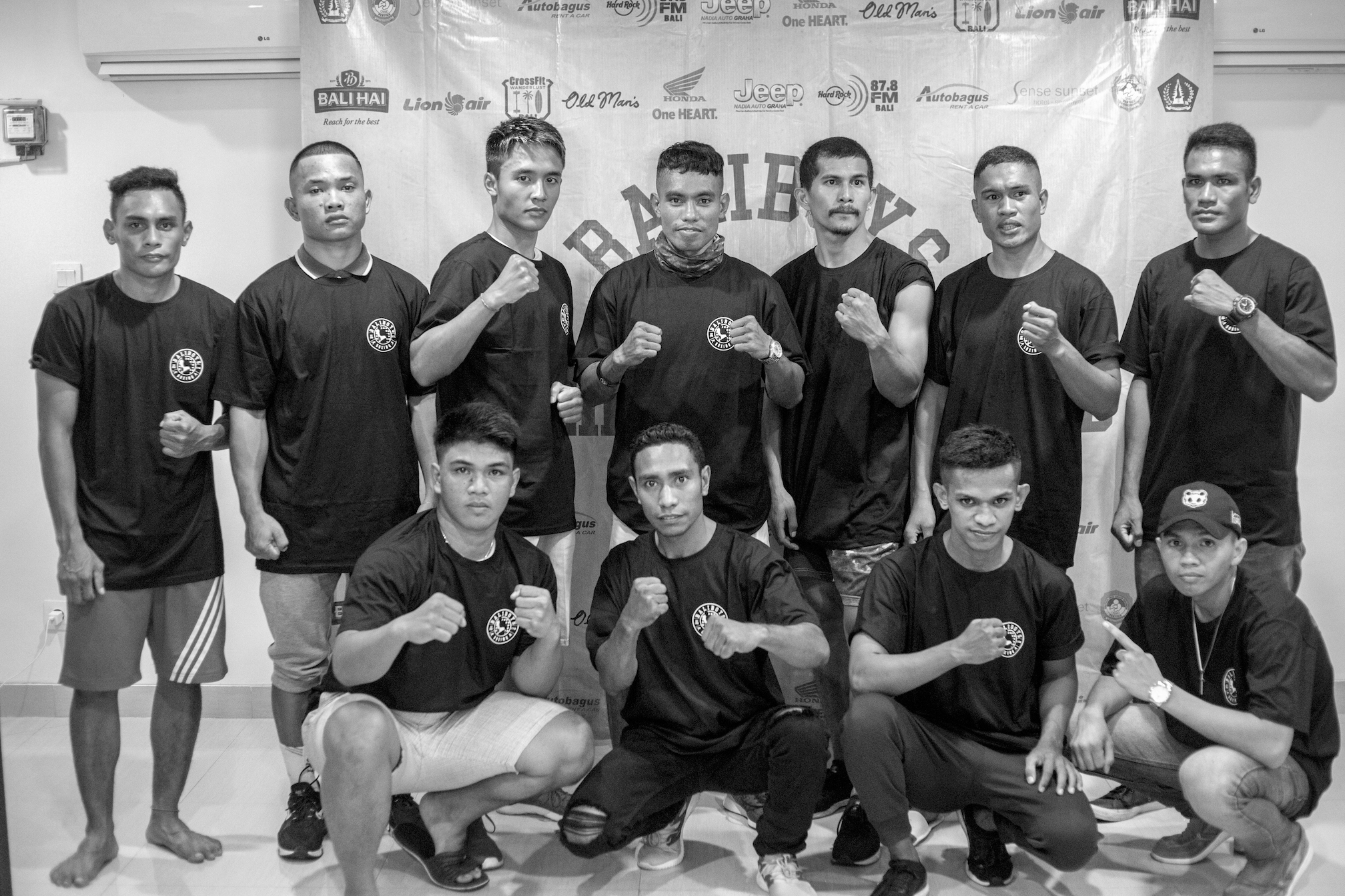 Indonesian boxers form bali boys boxing