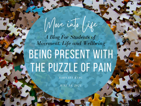 Being Present With the Puzzle of Pain