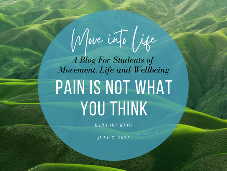 Pain Is Not What You Think