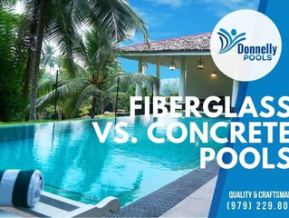Fiberglass vs. Concrete Pools
