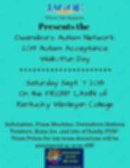 Presents the Owensboro Autism Network 20