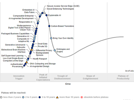 Gartner Hype-Cycle of Emerging Technologies 2020