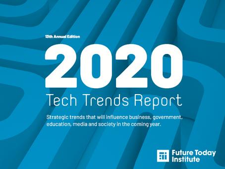Future Today Institute's 2020 Tech Trend Report
