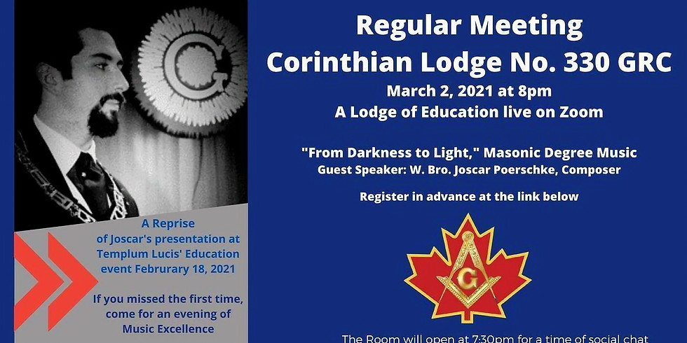 Masonic Avant-garde Zoom Event