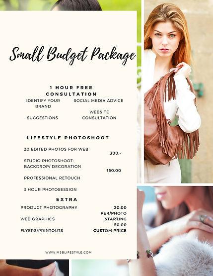 Photography, Branding offer in Geneva, Switzerland