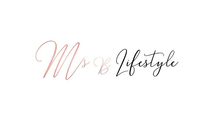 Ms.B Lifestyle Blog