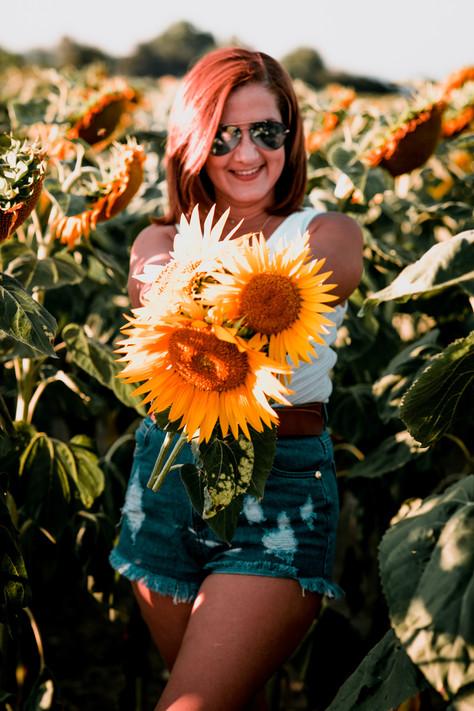 Sunflowers - Family Photoshoot, Switzerland