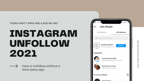 How to see who unfollowed me on Instagram in 2021