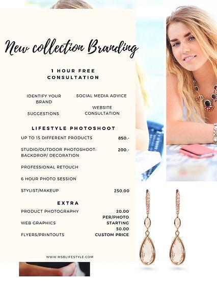 Ms.B Lifestyle branding offer