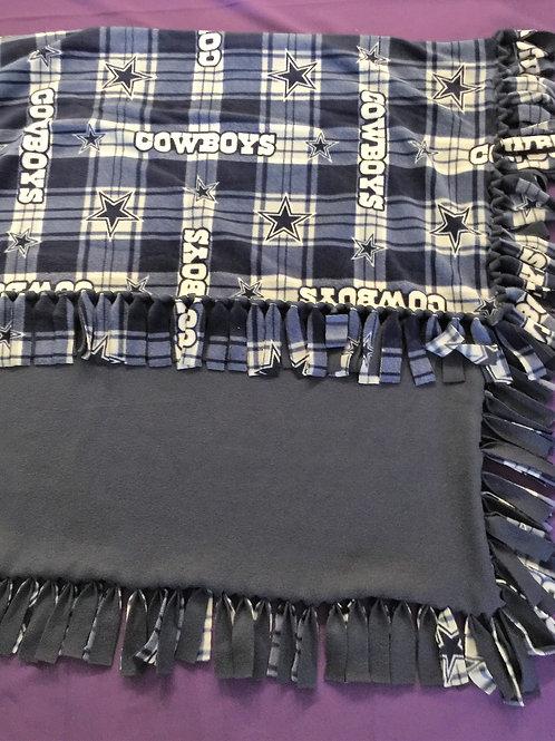 Dallas Cowboys No-Sew Blanket