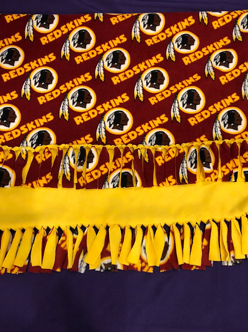 Washington Redskins No-Sew Blanket