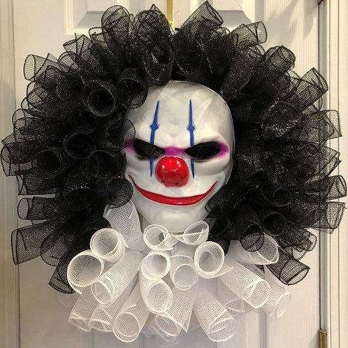 Chains the Clown Wreath