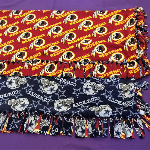 House Divided No-Sew Blanket
