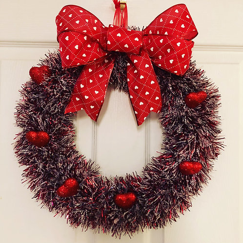 Valentine Garland Wreath