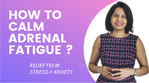 CHRONIC STRESS TREATMENT | HOW TO OVERCOME ADRENAL FATIGUE NATURALLY ?