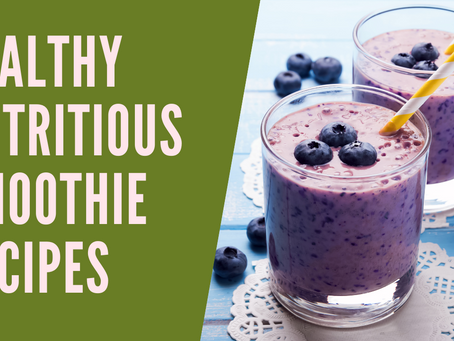SMOOTHIE RECIPES HEALTHY NUTRITIOUS | GUT HEALTHY RECIPES