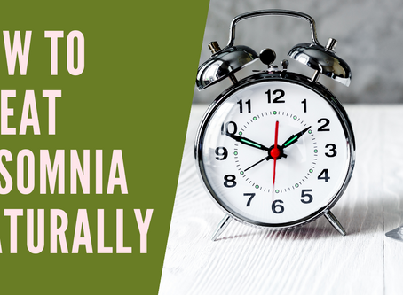 How to Treat Insomnia Naturally - By Boosting your Gut Health
