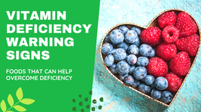 9 WARNINGS SIGNS OF VITAMIN DEFICIENCY YOU SHOULD KNOW !