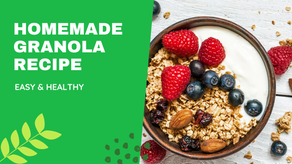 HOMEMADE GRANOLA | GUT HEALTHY RECIPES