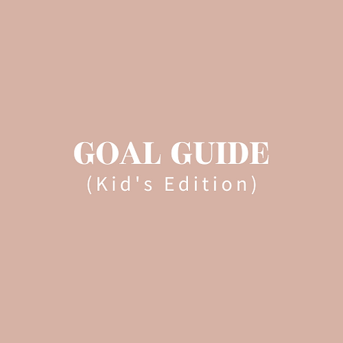The Mint Studio - Kid's Goal Guide