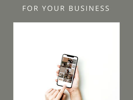How To Create a Cohesive Instagram Feed For Your Business