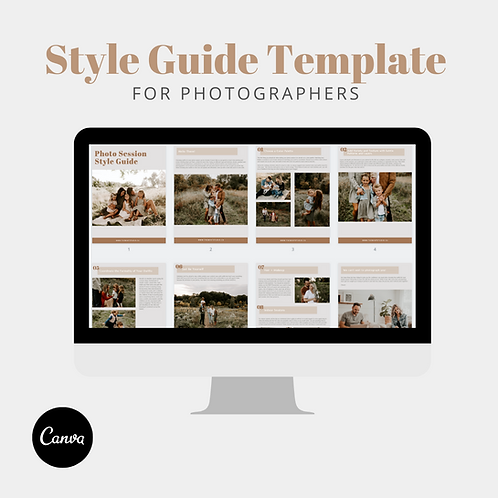 Style Guide Template - The Mint Studio