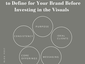 Why It's Important to Define Your Brand Strategy Before Your Brand Identity
