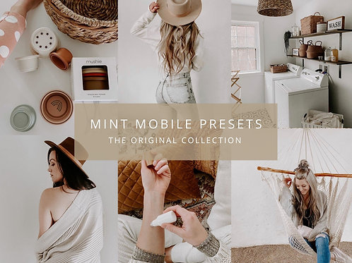 The Mint Studio Mobile Presets - The Original Collection