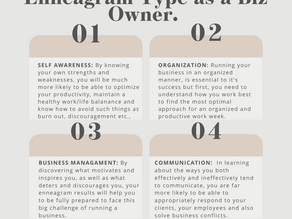 Why it's Helpful to Know Your Enneagram Type as a Business Owner