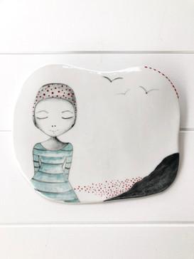 Porcelain Hanging no:4