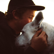 A man's best friend, Kyle and Bodie.