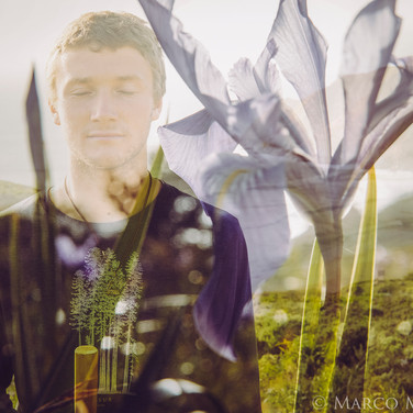 Double exposure with kyle