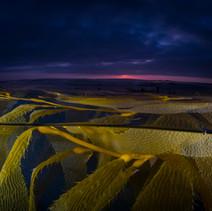Sunset in the Kelpbeds, Santa Barbara, CA