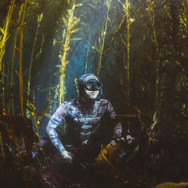 Myself in a kelp forest off Anacapa Island